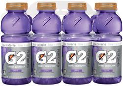 Gatorade G2 Grape Sports Drink - 8-pk