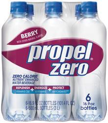 Propel Zero Berry Flavored Water - 6-pk