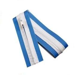 "Qualcraft® 3"" x 7' Blue Peel and Stick Zipper"
