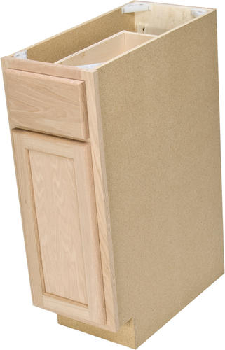 Quality one 12 x 34 1 2 unfinished oak base cabinet for 7 x 9 kitchen cabinets