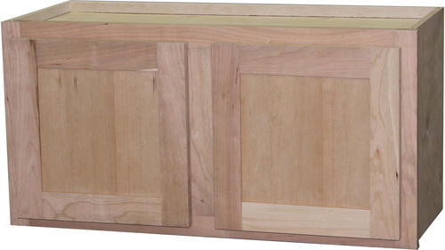 Quality one 30 x 18 unfinished cherry over an appliance for Kitchen cabinets 30 x 18