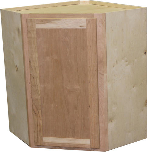 "Menards Unfinished Kitchen Cabinets: Quality One™ 24"" X 30"" Unfinished Cherry Diagonal Corner"