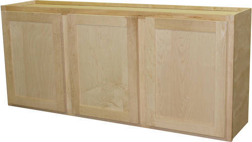 "quality one™ 54"" x 24"" unfinished maple laundry wall"