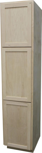 Quality one 18 x 84 unfinished maple utility cabinet at menards - Unfinished kitchen cabinets menards ...