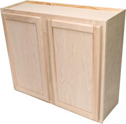 "Quality One™ 36"" x 30"" Unfinished Oak Standard Wall Cabinet"
