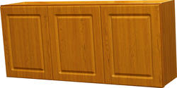 "Quality One™ 54"" x 24"" Oak Laminate Laundry Wall Cabinet"