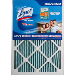 "Lysol 15"" x 20"" x 1"" Triple Protection Furnace Filter"
