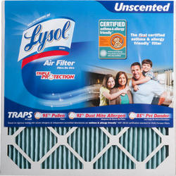 "Lysol 20"" x 20"" x 1"" Triple Protection Furnace Filter"