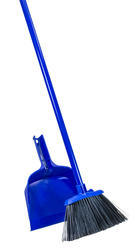 Fair & Square Angle Cut Broom and Dust Pan