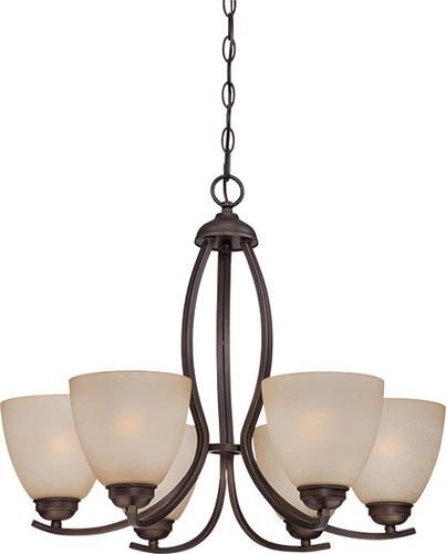 Patriot Lighting Maleah 24 1 2 Bronze 6 Light Chandelier At Menards