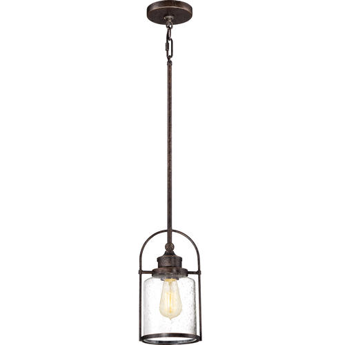 "Outdoor Hanging Porch Lights Menards: Patriot Lighting® Resto 11-1/2"" Imperial Bronze 1-Light"