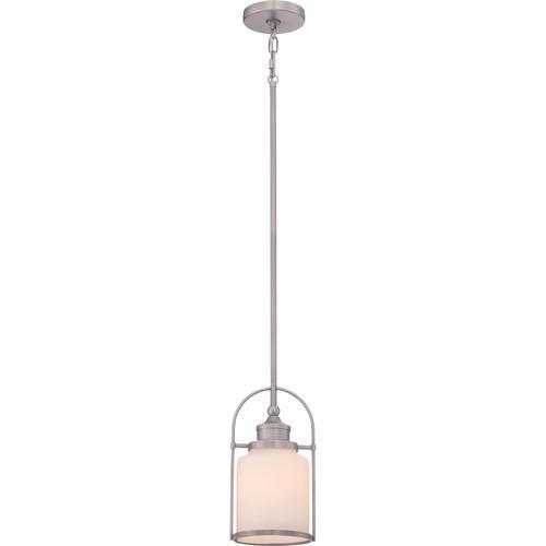 Mini Pendant Lights Menards : Patriot lighting? resto ii quot antique nickel light