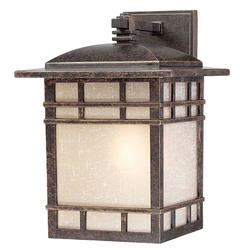 "Patriot Lighting® Elegant Home Mission 13"" Imperial Bronze 1-Light Outdoor Wall Light (Medium)"