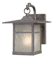 "Patriot Lighting® Granite 10.50"" Bronze 1-Light Outdoor Wall Light"