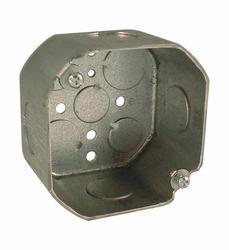 "4"" Octagon Box For Conduit, 2-1/8"" Deep"