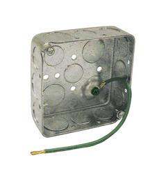 """4"""" Square Box For Conduit"""