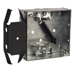 "4"" Square Box For MC/Armored Cable/Flex Cable"