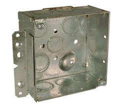 """4"""" Square Box For Conduit With Farside Support"""