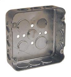 """4-11/16"""" Square Box For Conduit"""