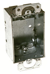 """3"""" x 2"""" Switch Box For Non-Metallic Sheathed Cable"""
