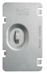 Flat Protection Plate For Single Device Mudring