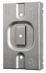 """3/4"""" Raised Protection Plate For 1-Device Mudring"""