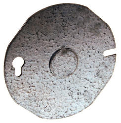 "3-1/2"" Flat Round Ceiling Pan Cover"