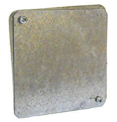 """4"""" Square Box Gasketed Cover For Square Plenum Box"""
