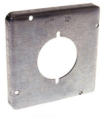 """4-11/16"""" Square Exposed Work Cover For One Device"""