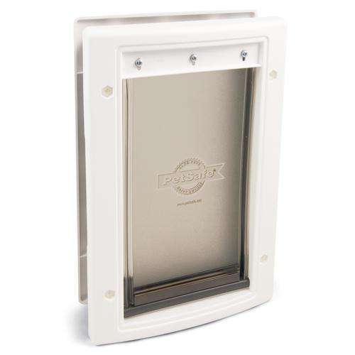 petsafe 5 1 8 x 7 1 2 small white plastic pet door