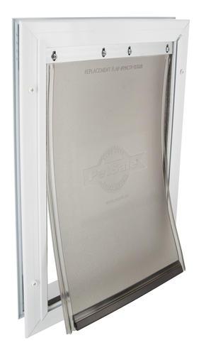 petsafe freedom 8 1 8 x 11 1 4 medium aluminum pet door