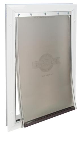 petsafe freedom 10 1 8 x 15 3 8 large aluminum pet door