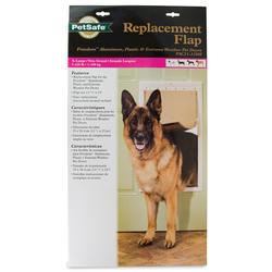 """PetSafe 13-3/4"""" x 24-3/8"""" Extra Large Pet Door Replacement Flap"""