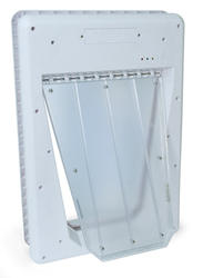 """PetSafe SmartDoor 11"""" x 16"""" Large White Electronic Pet Door"""