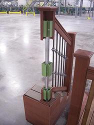 """Designer's Image 36"""" Steel Post Support"""