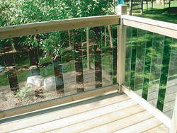 Rail Simple Clearview 6' Western Red Cedar Top and Bottom Rails
