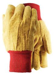 Yellow Fleece Gloves