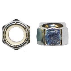 Grip Fast 10/24 Zinc Lock Nut W/Nylon Insert  - 50 pc