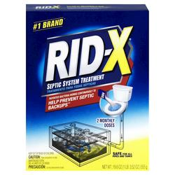 Rid-X Septic System Treatment - 2 Dose