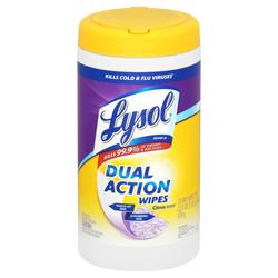 Lysol Dual Action 75Ct