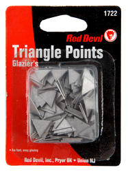 Red Devil Triangle Glazing Points - approx. 200 pcs