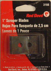 "Red Devil 1"" Double-Edge Scraper Replacement Blades - 2-ct"