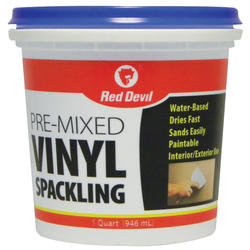 Red Devil Pre-mixed Vinyl Spackling Compound - 1 qt