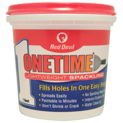 Red Devil Onetime Lightweight Spackling - 1 qt