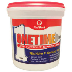 Red Devil Onetime Lightweight Spackling - 1 gal.