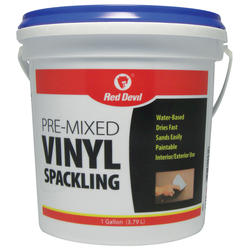 Red Devil Pre-mixed Vinyl Spackling Compound - 1 gal.