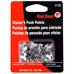 Red Devil Glazing Push Points - 55 pcs