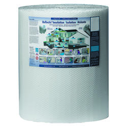 Reflectix 2' x 100' Single Reflective/White Double Bubble Insulation - Covers 200 Sq. Ft.