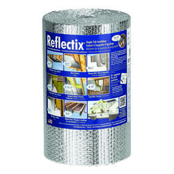 """Reflectix 16"""" x 25' Double Reflective Insulation with Staple Tab - Covers 33.33 Sq. Ft."""