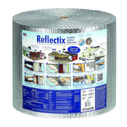 """Reflectix 16"""" x 100' Double Reflective Insulation with Staple Tab - Covers 133.33 Sq. Ft."""